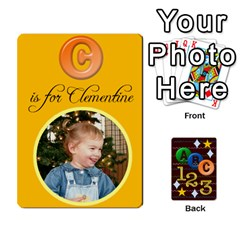 Learning Cards By Charis Balyeat   Playing Cards 54 Designs   05tm267a9p9z   Www Artscow Com Front - Spade4