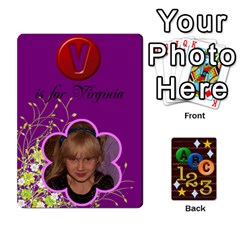 Learning Cards By Charis Balyeat   Playing Cards 54 Designs   05tm267a9p9z   Www Artscow Com Front - Heart10