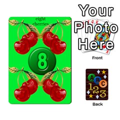 Learning Cards By Charis Balyeat   Playing Cards 54 Designs   05tm267a9p9z   Www Artscow Com Front - Diamond9