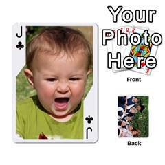 Jack Playcards2011 By Mo   Playing Cards 54 Designs   Gm3nz2stwyb0   Www Artscow Com Front - ClubJ