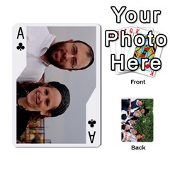 Ace Playcards2011 By Mo   Playing Cards 54 Designs   Gm3nz2stwyb0   Www Artscow Com Front - ClubA