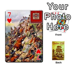 Quebec By Roi   Playing Cards 54 Designs   4d4h4xcu0win   Www Artscow Com Front - Heart7