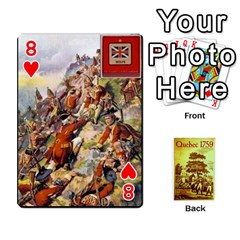 Quebec By Roi   Playing Cards 54 Designs   4d4h4xcu0win   Www Artscow Com Front - Heart8