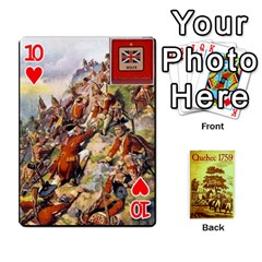 Quebec By Roi   Playing Cards 54 Designs   4d4h4xcu0win   Www Artscow Com Front - Heart10