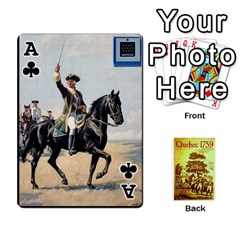Ace Quebec By Roi   Playing Cards 54 Designs   4d4h4xcu0win   Www Artscow Com Front - ClubA