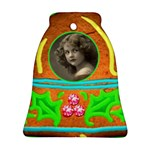 Gingerbread  Bell Ornament Single sided - Ornament (Bell)