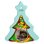 Gingerbread Cookie 2011 Tree Ornament - Ornament (Christmas Tree)