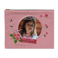 Cosmetic Bag (xl)  Friends Forever By Jennyl   Cosmetic Bag (xl)   Izzagcb4o1et   Www Artscow Com Front