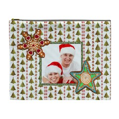 Christmas Cookies Cosmetic Bag Extra Large By Catvinnat   Cosmetic Bag (xl)   Tqof2510xr7u   Www Artscow Com Front