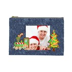 Christmas Cookies Large Cosmetic Bag - Cosmetic Bag (Large)