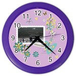 Color Wall Clock- Memories