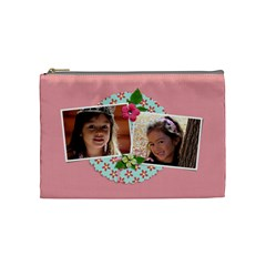 Cosmetic Bag (medium)   Sweet Bianca By Jennyl   Cosmetic Bag (medium)   2ocqvpcfzcwc   Www Artscow Com Front