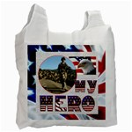 My Hero US Military Recycle Bag single sided - Recycle Bag (One Side)