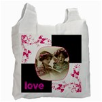 Pinkadink Recycle Bag Double sided - Recycle Bag (Two Side)