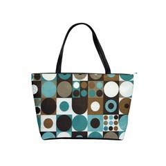 Dot Fabric Classic Shoulder Bag By Eleanor Norsworthy   Classic Shoulder Handbag   8fy2l04nwyha   Www Artscow Com Front