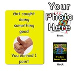 Reward cards - Playing Cards 54 Designs