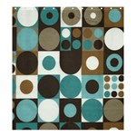 dot shower curtain - Shower Curtain 66  x 72  (Large)