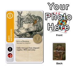 Jack Aether Captains: Capek Golems [economy] By Todd Sanders   Playing Cards 54 Designs   Uy3f2ynfv8qf   Www Artscow Com Front - HeartJ