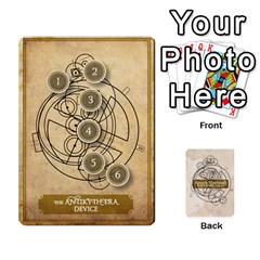Aether Captains: Clockwork Cabal [economy] By Todd Sanders   Playing Cards 54 Designs   8qicua17fxxm   Www Artscow Com Front - Joker2