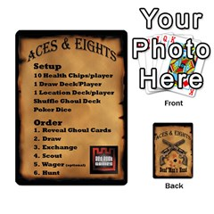 Queen Aces & Eights By Michael   Playing Cards 54 Designs   54cdgb96g0ea   Www Artscow Com Front - ClubQ