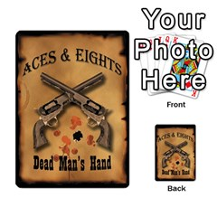 Aces & Eights By Michael   Playing Cards 54 Designs   54cdgb96g0ea   Www Artscow Com Back