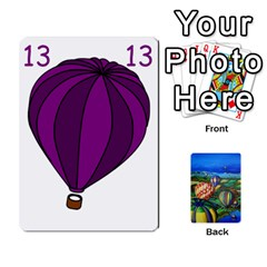 Balloon Cup By Kas   Playing Cards 54 Designs   Gullzn5x0wyp   Www Artscow Com Front - Diamond8