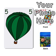 Balloon Cup By Kas   Playing Cards 54 Designs   Gullzn5x0wyp   Www Artscow Com Front - Spade6