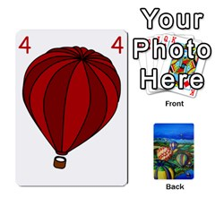 Balloon Cup By Kas   Playing Cards 54 Designs   Gullzn5x0wyp   Www Artscow Com Front - Club4
