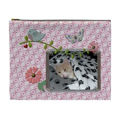 Precious Xl Cosmetic Bag By Lil    Cosmetic Bag (xl)   Kfqcq17wg5dn   Www Artscow Com Front