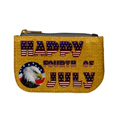 Happy 4th Of July Mini Coin Purse By Catvinnat   Mini Coin Purse   Xv7h7t7w281c   Www Artscow Com Front