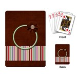 Sock Monkey Love Playing Cards 1 - Playing Cards Single Design