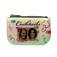 Cocktail Mini Coin Purse By Deborah   Mini Coin Purse   H4xjrn9zrsr8   Www Artscow Com Front