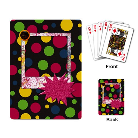 Clash Playing Cards 1 By Lisa Minor   Playing Cards Single Design   Ff5t4zxal5su   Www Artscow Com Back