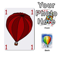 Balloon Cup  By Kas   Playing Cards 54 Designs   Sih1szv3k1vi   Www Artscow Com Front - Club3