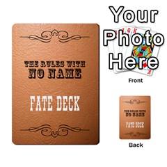 Trwnn Fate Deck By Hugh Duggan   Playing Cards 54 Designs   Byskpdh0s3u6   Www Artscow Com Back