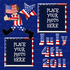 4th Of July 12x12 Scrapbook Pages By Chere s Creations   Scrapbook Page 12  X 12    A9dnbxfy6e3s   Www Artscow Com 12 x12 Scrapbook Page - 1