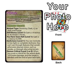 Gamma World   Origin Cards By Chris Taylor   Playing Cards 54 Designs   Rj2ckgnvsb3o   Www Artscow Com Front - Diamond2