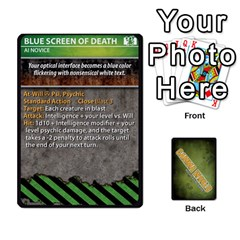 Gamma World   Power Cards, Deck B By Chris Taylor   Playing Cards 54 Designs   1whizeu6e1l0   Www Artscow Com Front - Club10