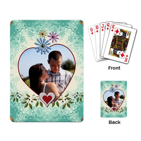 Pretty Love Playing Cards by Lil Back