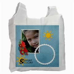Recycle Bag (two Side)  Summer Sizzler By Jennyl   Recycle Bag (two Side)   Jb6zb9iqt9fi   Www Artscow Com Front