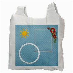 Recycle Bag (two Side)  Summer Sizzler By Jennyl   Recycle Bag (two Side)   Jb6zb9iqt9fi   Www Artscow Com Back