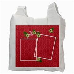 Recycle Bag (two Side)  Red Dreams By Jennyl   Recycle Bag (two Side)   Asyf1uv7c8nx   Www Artscow Com Back