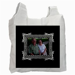 Fancy 2 Sided Recycle Bag By Klh Front