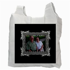 Fancy 2 Sided Recycle Bag By Klh Back