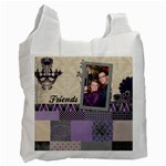 Royal Silhouette Recycle Bag - Recycle Bag (One Side)