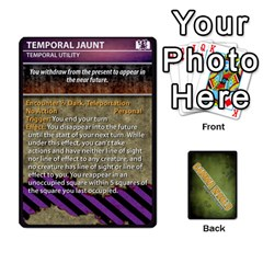 Gamma World   Power Cards, Deck C By Chris Taylor   Playing Cards 54 Designs   O666lplg53n3   Www Artscow Com Front - Club9