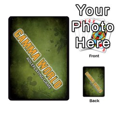 Gamma World   Power Cards, Deck C By Chris Taylor   Playing Cards 54 Designs   O666lplg53n3   Www Artscow Com Back