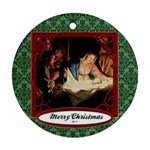 manger - Ornament (Round)