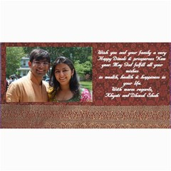 Diwali Card By Khyati Shah   4  X 8  Photo Cards   Zm639ku9gnrv   Www Artscow Com 8 x4 Photo Card - 1