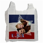 usa  - Recycle Bag (One Side)